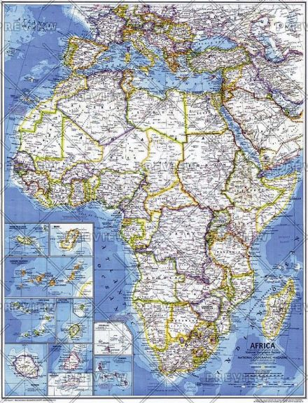 Africa - Published 1980 by National Geographic